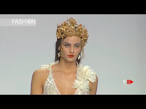 VIRGINIA VALD Reinas Full Show Spring Summer 2018 Madrid Bridal Week - Fashion Channel