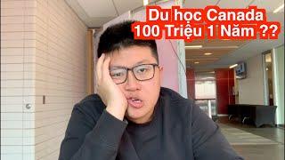 DU HỌC CHỈ VỚI 100 TRIỆU 1 NĂM ?!?!?! | Du học Canada 🇨🇦(Vlog 2)