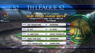 Trực tiếp TH League S2 2018 - Vòng 4 [FC Trẻ TP vs FC Diamond]