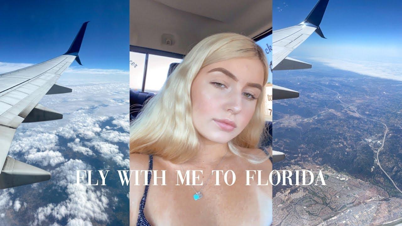 TRAVEL VLOG! - FLYING TO FLORIDA!