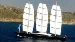 Perini Navi : 88m S/Y Maltese Falcon
