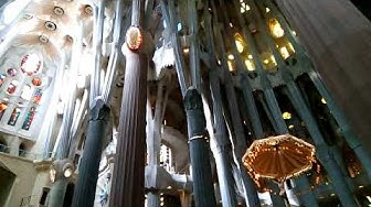 Barcelona - Sagrada familia kirkko