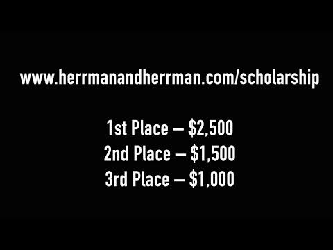 Herrman & Herrman, P.L.L.C. 2nd Annual Innovation Scholarship Contest