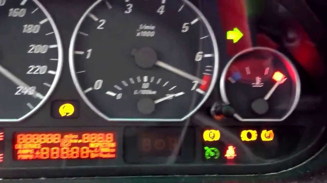 Bmw Dash Light Test Procedure Youtube