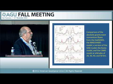 A21M. Gravity Waves in the Atmosphere and Ocean I - 2012 AGU Fall Meeting