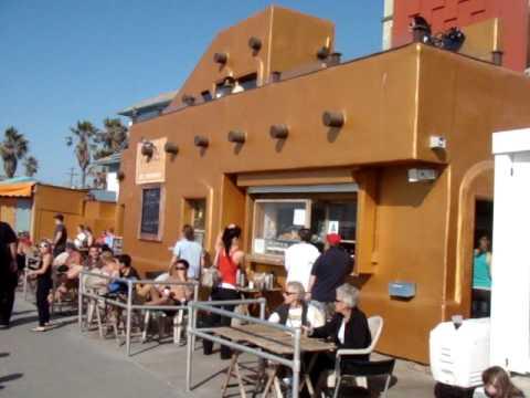 Seaside Cantina Restaurant on Boardwalk in Pacific Beach
