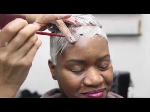 How to mold & curl short hair| Black Short hair styles 2019| I am Toya Knowles