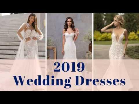 Wedding Dresses 2019 - 100+ 2019 Bridal Wedding Gown Ideas
