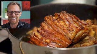 How to Make Bavarian Pork Roast - German Recipes- by klaskitchen.com