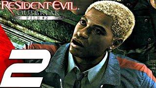 Resident Evil Outbreak File #2 HD - Gameplay Walkthrough Part 2 - Underbelly [4K 60FPS]