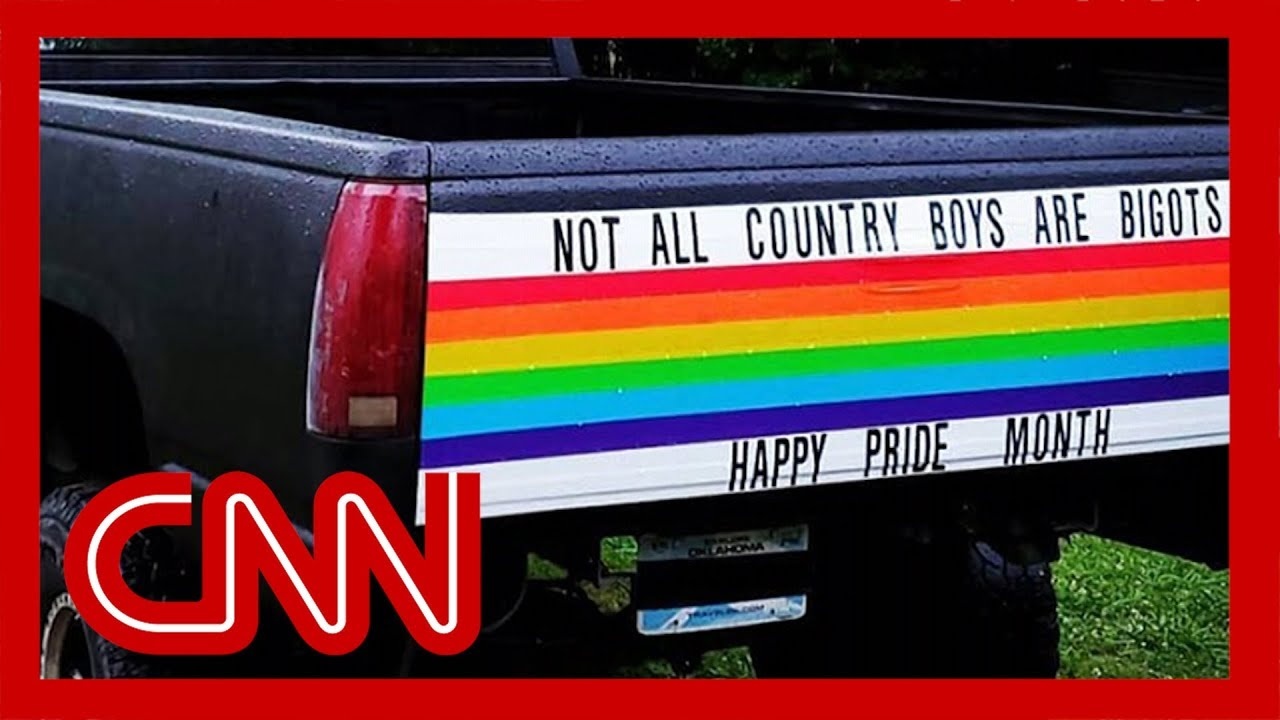 CNN:Self-described 'straight guy from Oklahoma' tricks out truck for Pride