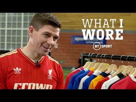 What I Wore: Steven Gerrard