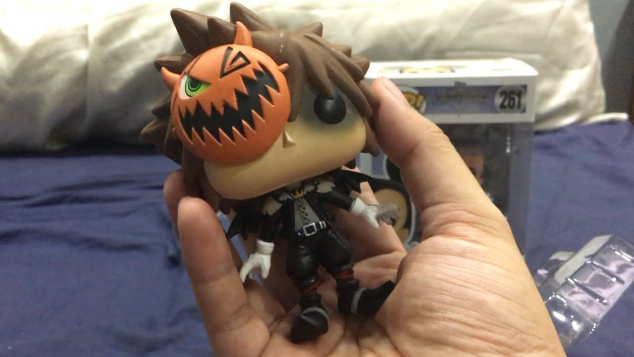 unboxingkingdom hearts halloween town sora pop where did this come from