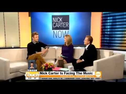 Backstreet Boy Nick Carter on WLNY's Live From The Couch