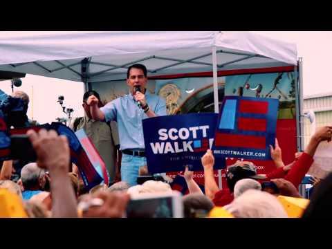 "Scott Walker 2016 - ""I Am Not Intimidated"""