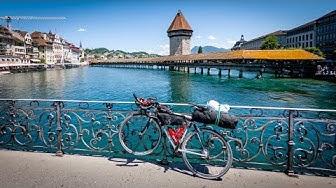 Itinéraires Nationaux Suisse à vélo 5-3-4-9 FULL HD