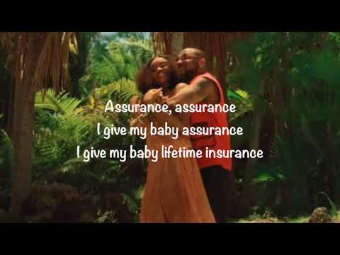 Davido - Assurance  (Animated Lyric Video)