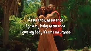 Davido - Assurance  (Animated Lyric Video)