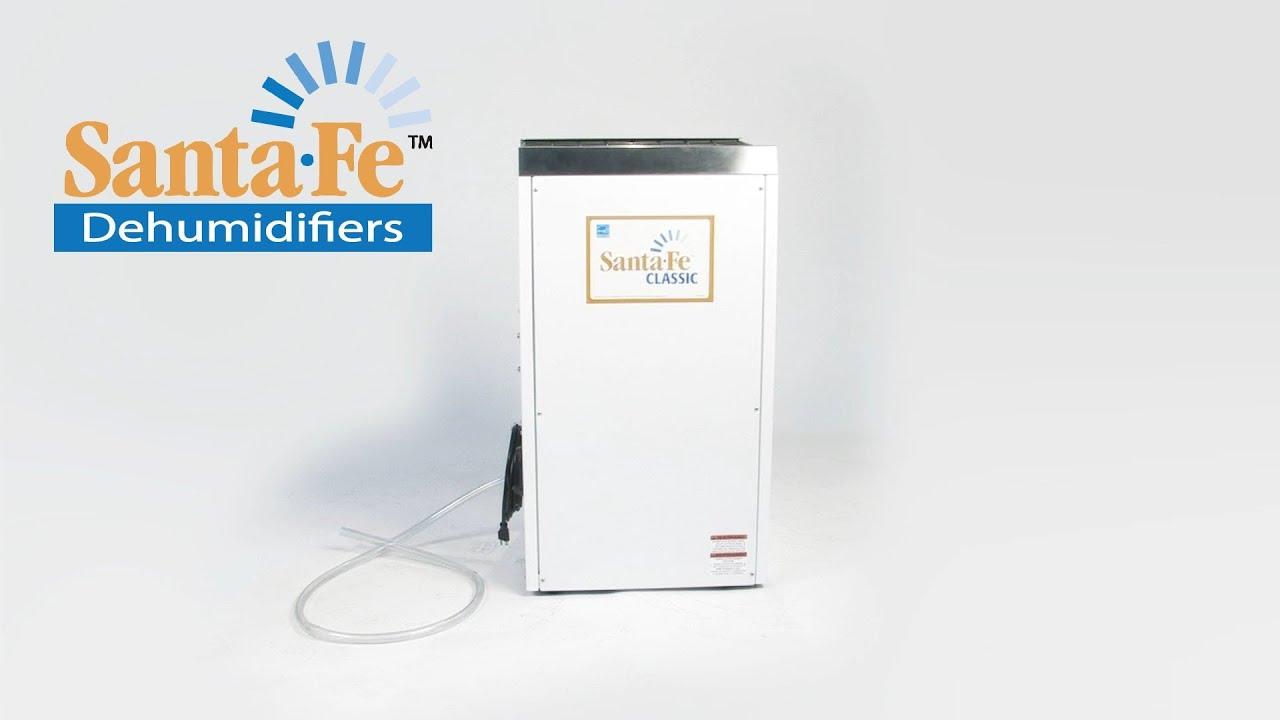 Santa Fe Classic Dehumidifier Video | Sylvane