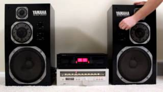 Yamaha NS1000M Speakers