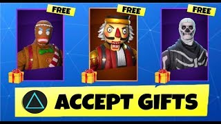 SERVERS ARE UP! Fortnite Gifting System Out - WHO WANTS A GIFT?