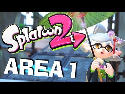 CALLIE IS MISSING! || SPLATOON 2 - Area 1