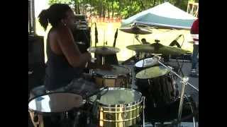 Reggae Drum Lessons - Dyrol Randall in performance 4
