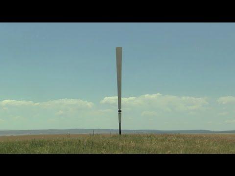 Spain Works on New Bladeless Wind Turbine - YouTube