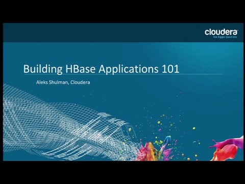 Apache HBase 101: How HBase Can Help You Build Scalable, Distributed Java Applications