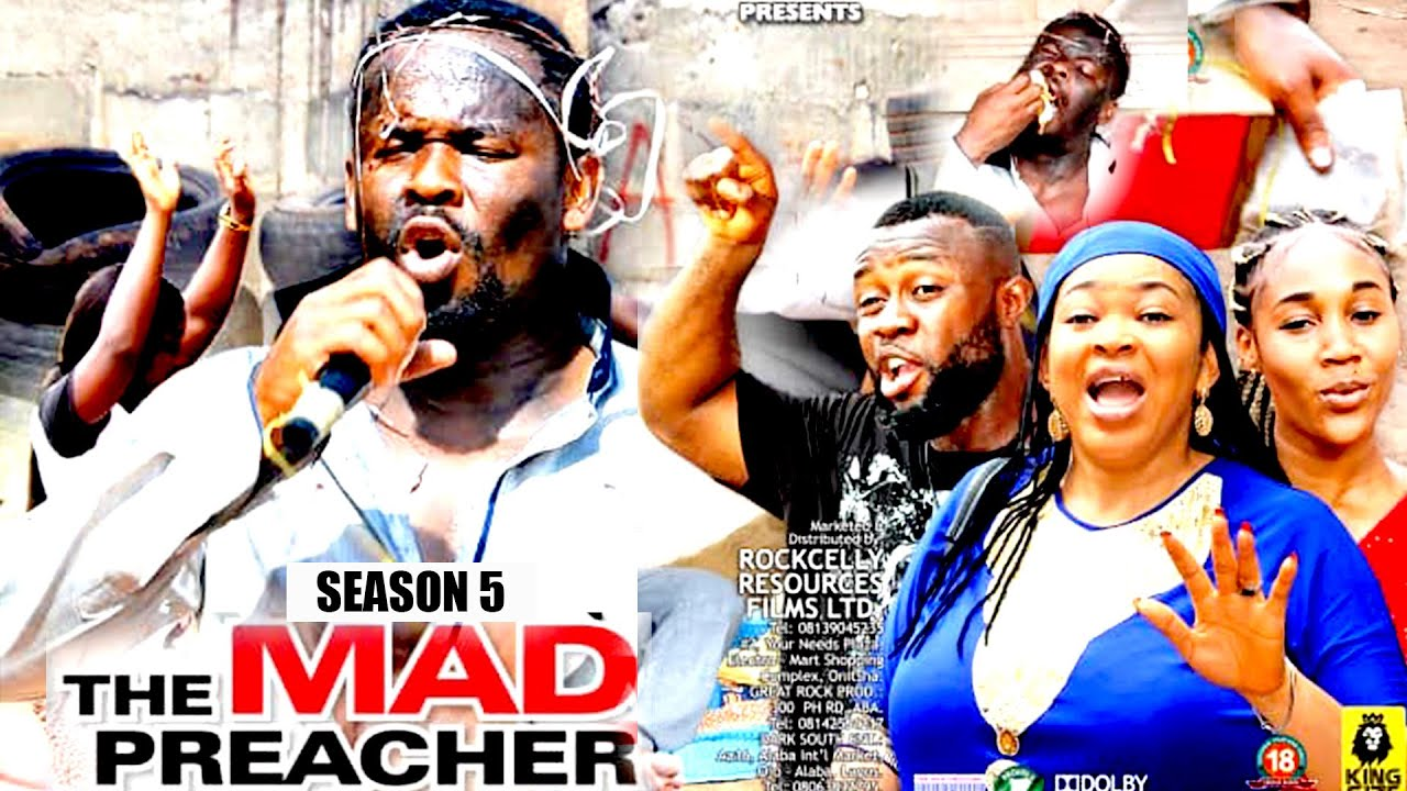 Download MAD PREACHER (SEASON 5)  - ZUBBY MICHEAL 2021 NOLLYWOOD BLOCKBUSTER || ROCKCELLY TV