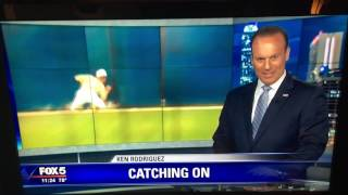 2 Absolutely Amazing Catches! ESPN Top Plays