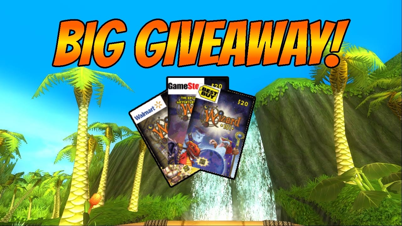 wizard101 free gift cards | Applydocoument co