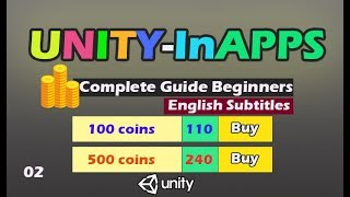 unity In App purchase IAP Tutorial [02]