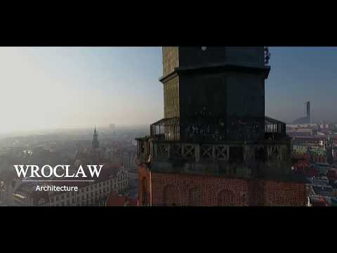 Architecture of Wroclaw Cinematic footage || DJI Phantom 4