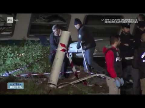 Treno contro Tir a Caluso, le dinamiche dell'incidente - La vita in diretta 25/05/2018