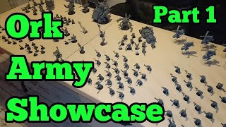 Ork Army Showcase - Part 1