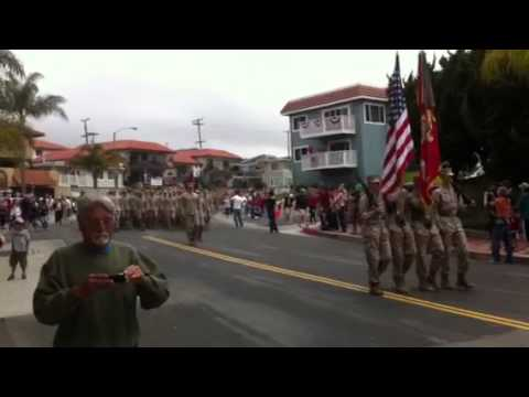 2nd BN 4th Marines Homecoming Parade in San Clemente - 14 June 2012