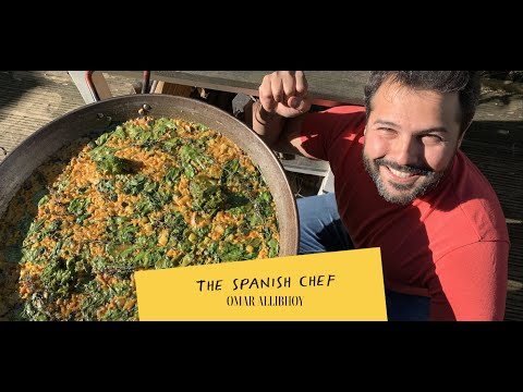 Paella verde | Super Healthy Vegan Green Paella