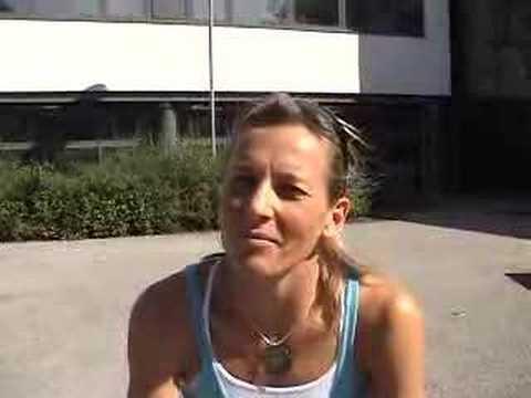 Michelle Dillon pre-Hamburg