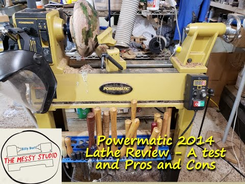 Powermatic 2014 Lathe Review - A Test And Pros And Cons