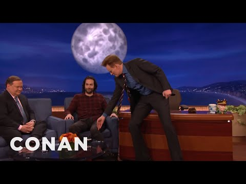 Conan Commands Chris D'Elia To Close His Legs  - CONAN on TBS