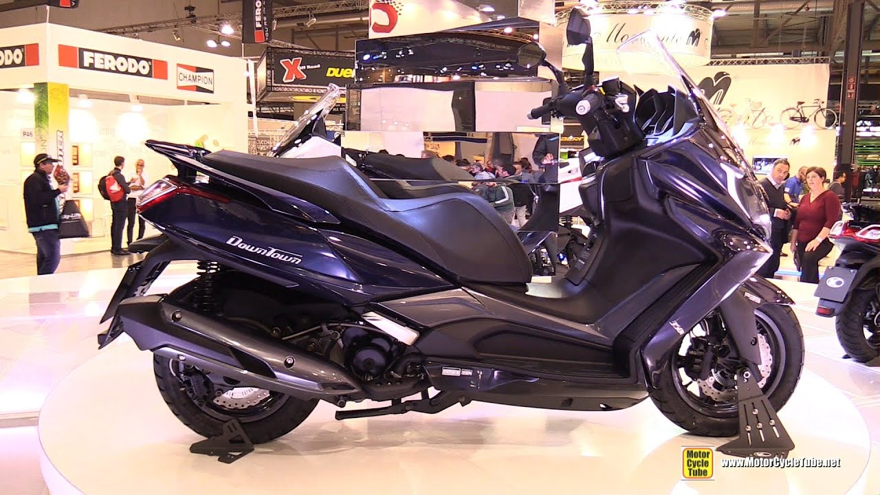 2016 kymco downtown 350 abs scooter turnaround 2015 eicma youtube. Black Bedroom Furniture Sets. Home Design Ideas