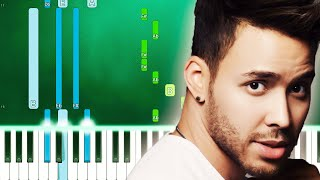 Prince Royce - Cita (Piano Tutorial Easy) By MUSICHELP