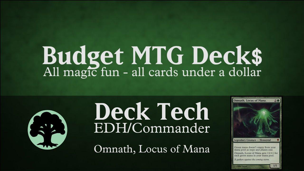 Budget Omnath Locus Of Mana Edh Commander Ramp Youtube