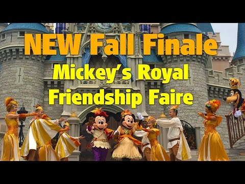 NEW Autumn Friendship Faire Grand Dance Finale | Mickey's Royal Friendship Faire