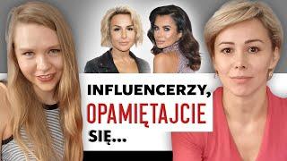 Maja Staśko o influencerach. Malina Błańska