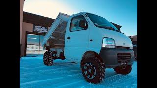 Suzuki Carry Dump Truck w/Upgrades!