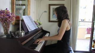 "Chopin - prelude (""Raindrop"") - vacation soundcheck"