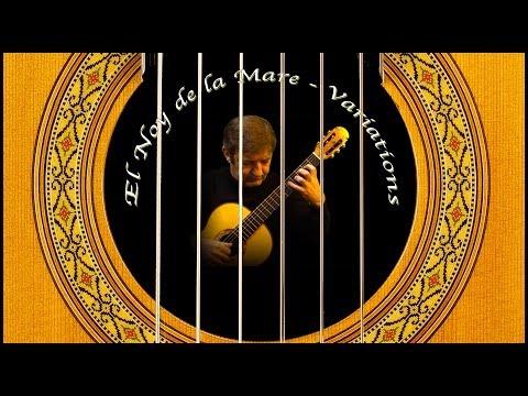 Variations on a Catalan Folk Song - Classical Guitar by Frédéric Mesnier
