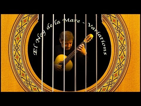 variations on a catalan folk song - classical guitar by frdric mesnier